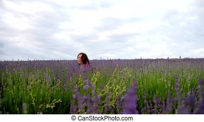 Female Child Hid in a Lavender