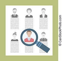 Concept Recruitment Specialists - Illustration Concept...