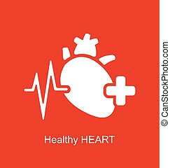 Medical Logo of Healthy Heart