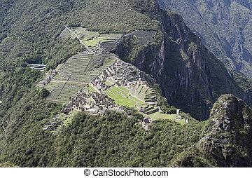 Machu Picchu - horizontal - Machu Picchu, Peru, the view...