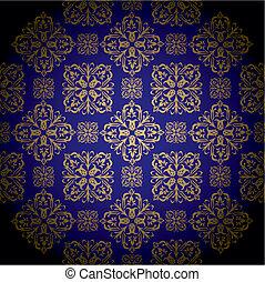 golden royal blue