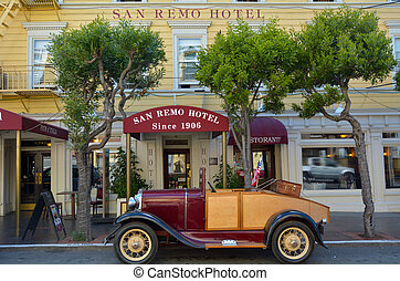 San Remo Hotel in San Francisco California - SAN FRANCISCO,...