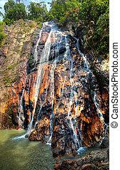 Muang waterfall on Samui island, Thailand