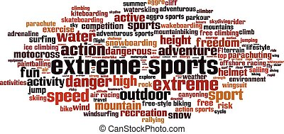 Extreme sports-horizon Convertedeps - Extreme sports word...