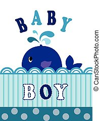 whale baby boy