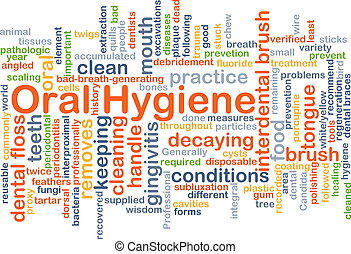 Oral Hygiene background concept - Background concept...