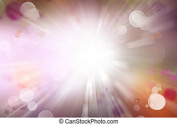 Explosive background - Bright explosion on colorful...