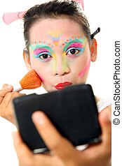 makeup or body painting