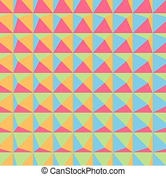 Abstract 3d geometric pattern. Polygonal background. Vector...
