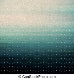 Vintage background. Water surface. Vector illustration. Can...