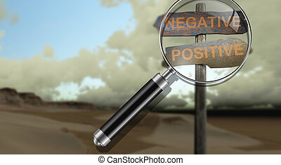 negative - positive - sign direction negative - positive...
