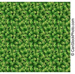 Leaves seamless texture background
