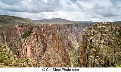 Black Canyon of the Gunnison, CO - Beautiful Black Canyon of...