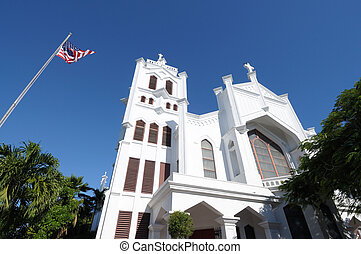 St Pauls Episcopal Church, Key West, Florida USA