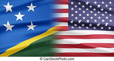 USA and Solomon Islands. - Relations between two countries....