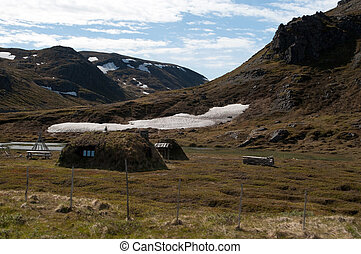 North Cape, Norway - In Norway at the island Mageroya, at...