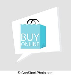 Buy Online Icon - An image of a buy online icon
