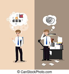good and bad working