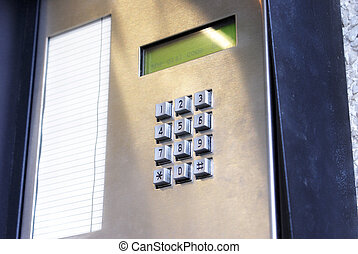 Security Key Pad - A security key pad to open doors....