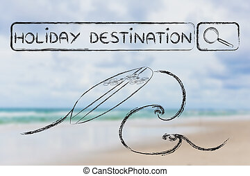 search for your next holiday destination