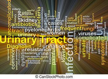 urinário, área, infecção, UTI,...