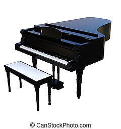 grand piano - image of grand piano