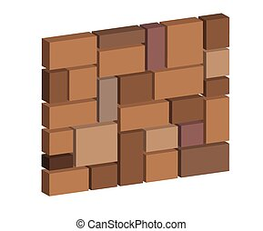 3d brick stone wall, design block stone wall texture for...