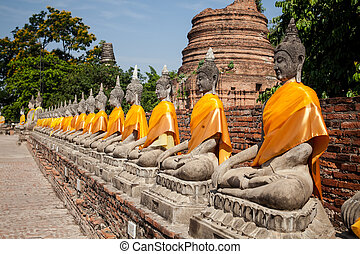 Old temple Historic Town of Sukhothai Thailand - Historic...