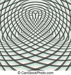 Abstract swirl background Pattern with optical illusion...
