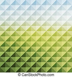 Abstract geometric background. Mosaic. Vector illustration....