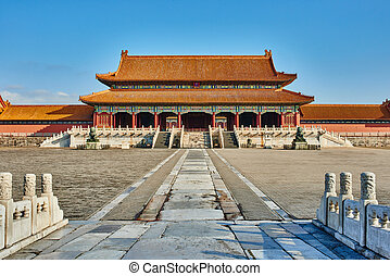 Taihemen Gate Of Supreme Harmony Forbidden City - Taihemen...