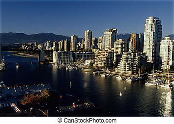 Downtown skyscrapers- Vancouver, Canada - Skycrapers of...