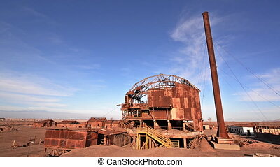 Santa Laura, Chile Video - Video of an old abandoned factory...