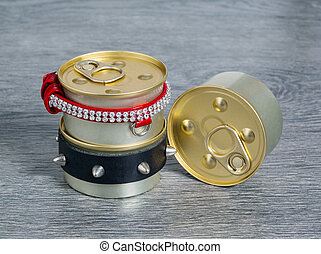 canned foods for cats and dogs