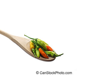 Colorful mix of peppers - Colorful mix of freshest peppers...