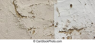 Cracked Concrete Wall Detail Background