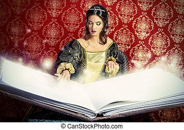 書, ......的, 拼寫,