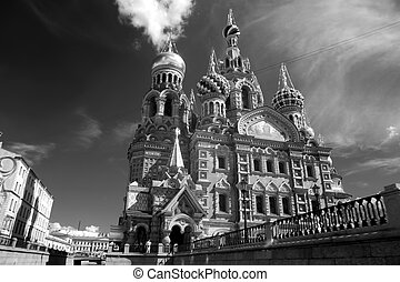 Church of the Saviour on Spilled Blood, St. Petersburg,...