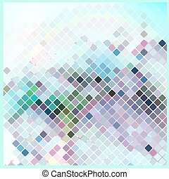 fragmentary - abstract mosaic background, vector...