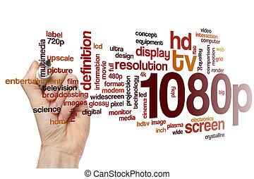 1080p word cloud concept