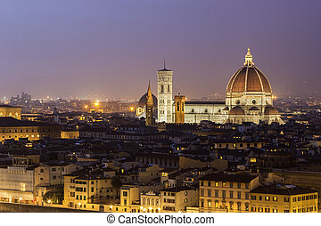 View on Florence Cathedral in Italy