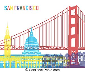 San Francisco skyline pop