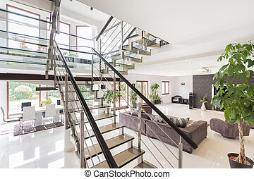 Beauty modern interior ready to moving in