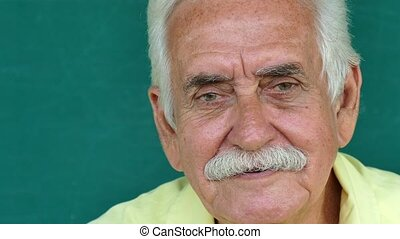 4-Portrait Hispanic People - Portrait of happy old people...