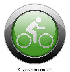 Icon, Button, Pictogram Bicycle - Icon, Button, Pictogram...