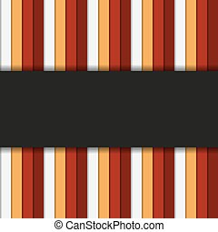 Infographic or background striped template in warm colors...
