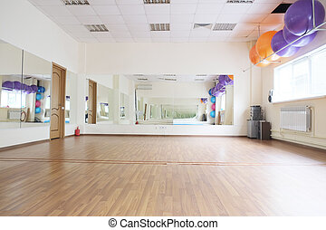 Fitness hall - Interior of a fitness hall