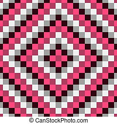Seamless geometric background Mosaic Abstract vector...