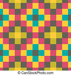 Seamless geometric background Abstract vector Illustration...