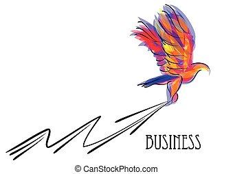 eagle and arrow